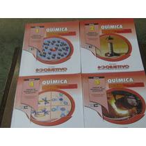 Livros Química Coleção Objetivo 4 Volumes