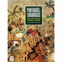 Livro Português Linguagens Vol Único 2009 - Editora Atual