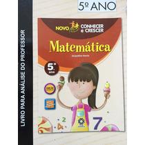 Novo Conhecer E Crescer Matemática 5ºano