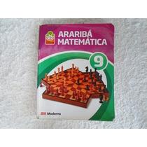 Livro Projeto Araribá Matemática 9 3ª Edição Editora Moderna
