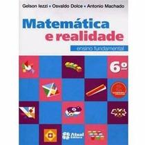 Livro Matemática E Realidade Ensino Fundamental 6º Ano