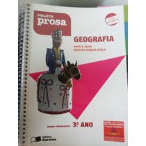 Livro: Geografia 3°ano - Projeto Prosa.