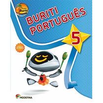 Livro Projeto Buriti Português 5° Ano C/ Dvd - Ed. Moderna