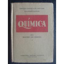 Livro - Química - G. C. De Carvalho, W. Saffiot - 1953