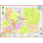 Mapa Do Distrito Federal --- Político - 117 X 89 Cm