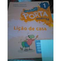 Livro Porta Aberta Língua Portuguesa - Lição De Casa 1º Ano