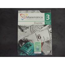 R/m - Livro - Matematica Contexto E Aplicações Vol 3 Dante