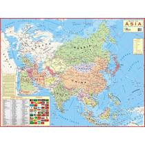 Mapa Da Ásia - Político