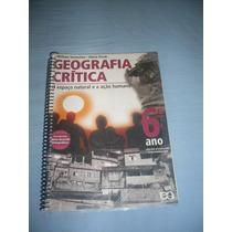 Livro - Geografia Crítica - Espaço Natural - 6º Ano