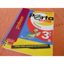 Livro: Porta Aberta Matemática 3ºano (livro Professor) - Ftd