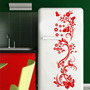 Adesivo Decorativo Parede Floral Borboleta Box Geladeira