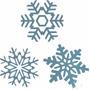 15 Adesivos Flocos De Neve Frozen, Para Decorar Sua Festa...