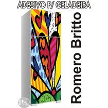 Kit Adesivo Envelopamento Skin Geladeira Romero Britto