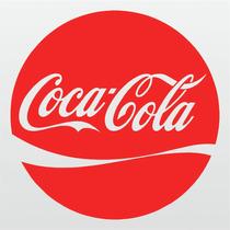 Kit 02 Adesivos Coca Cola 15cm X 15cm