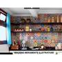 Adesivos Decorativos (kit 24un 15x15cm) - Mosaico/azulejo