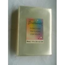 Saquinho Dvd Cd Envelope Plástico Sem Aba 01kg 14x20x0,13cm
