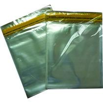 Saquinho Plástico Adesivado 100 Unid.14x20 Cm P/ Cd E Dvd