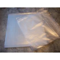 100+100 Capas Plástico Externo+interno Lp Disco Vinil 0,20