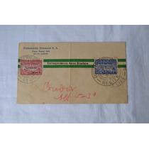 Envelope Circulado C/ Selo Graf Zepelin-1930- 1º Vôo Com.