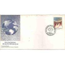 Ml-5023 Fdc Brasil ( Dia Nacional De Ação De Graças ) 1991
