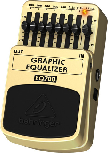 Eq700 Pedal Behringer Graphic Equalizer Eq 700 Equalizador