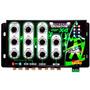 Crossover Eletrônico Infratron 4 Vias Inf- X4 Som Carro Trio