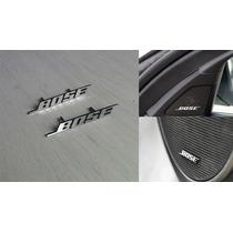 2 Emblemas Alumínio Bose Sound Bmw Mercedes Benz Audi Fusion
