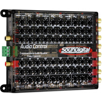 Equalizador Crossover Soundigital 3 Vias Audio Control Som