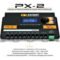 Crossover Processador Digital Expert Px2 6ch Limiter 46eq