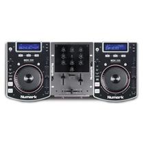 Kit Numark Par De Cdj Ndx 200 + Mixer M1a