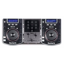 Numark Dj Kit In A Box 2cdj Mixer Fone