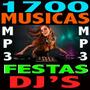 1700 Musicas P/festas Djs Bar Lojas+ Frete Gratis E Download