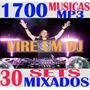 1700 Músicas Mp3 Dj+30 Sets Mixados + Frete Grátis+ Download