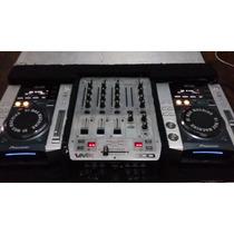 Cdj Pioneer Par 200s +mixer Dmx 300 Beringuer
