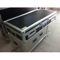 Flight Case Para Cdj E Mixer 12 Polegadas