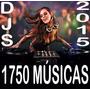 1750 Musicas P/festas Djs Bar Lojas+ Frete Gratis E Download