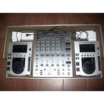 Par De Cdj 100s Pionner +mixer Behringer Djx700