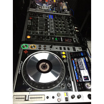 Kit Cdj 2000 Nexus Platinum + Djm 900 Nexus Platinum Usado