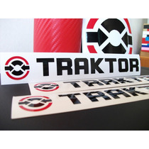 Adesivos Traktor E Native Instruments