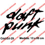 Adesivo Top Deejay E-music House Techno Dj Daft Punk - Dj-29