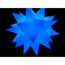 Estrela Sputnik 31 Pontas Em 3d , Iluminacao,barman,som,dj