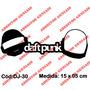 Adesivo Top Deejay E-music House Techno Dj Daft Punk - Dj-30