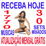 Kit Dj Festas 1750 Mp3 2015 + 30 Sets Frete Gráts + Download