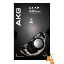 Fone De Ouvido Akg K414p Headphone Monitor Audio Retorno