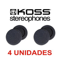 Espumas Para Fone Koss Porta Pro Com 4 Unidades Id8888