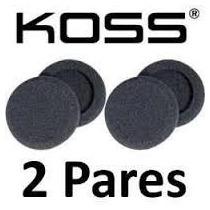 Espumas Para Reposição Fone Koss Porta Pro Com 4 Unidades