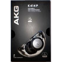 Fone P/ Retorno Akg K414p 100% Original ++ General Som ++