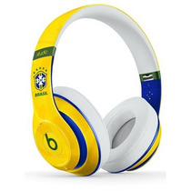 Headphone Beats By Dr. Dre Studio Ediçao Cbf Il Original