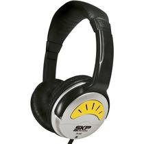 Fone De Ouvido Headphone Skp Ph 450 Para Djs Com Plug P10
