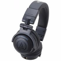 Fone De Ouvido Dj Pro Audio Technica Ath Pro500 Mk2 Preto